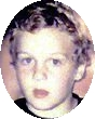 Photo of Mark Young, a blond boy.