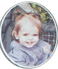 Photo of Jocelynn Allison, a toddler girl.