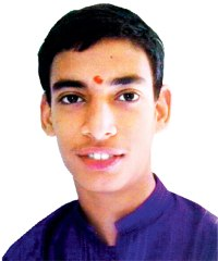 Photo of Chaitanya Balpande, an adolescent boy.